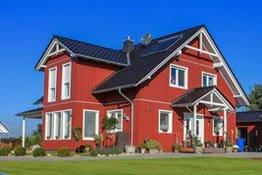 Gebäudeversicherung Schwedenhaus und Holzhaus