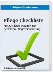 Pflege Checkliste
