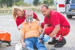 Unfallversicherung Mann